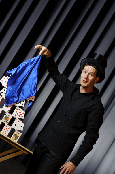 Ostschweizer Zauberer Zauberkünstler Magic Dean
