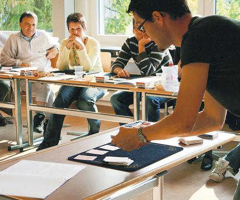 Zauberer Schweiz - Magic Dean bei der Lehrerfortbildung