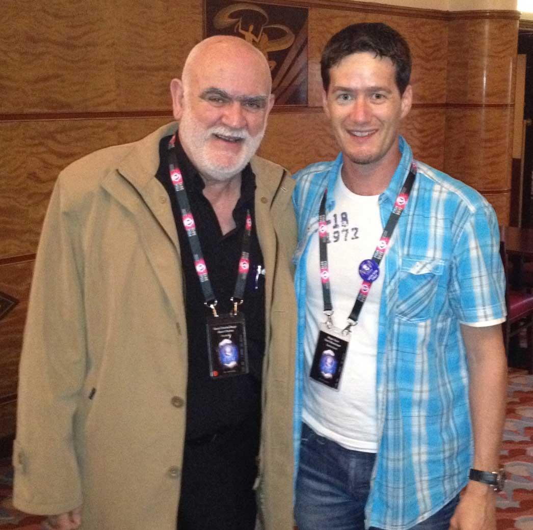 Zauberkünstler Magic Dean mit Charles Gauci