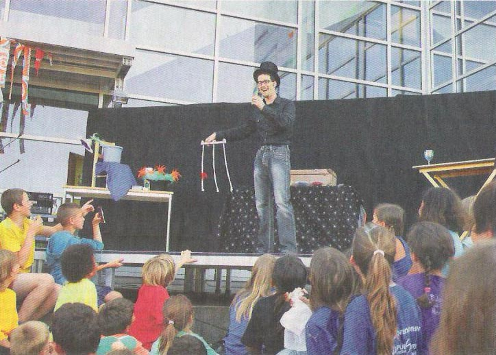 Zauberer Magic Dean am Botsbergfest